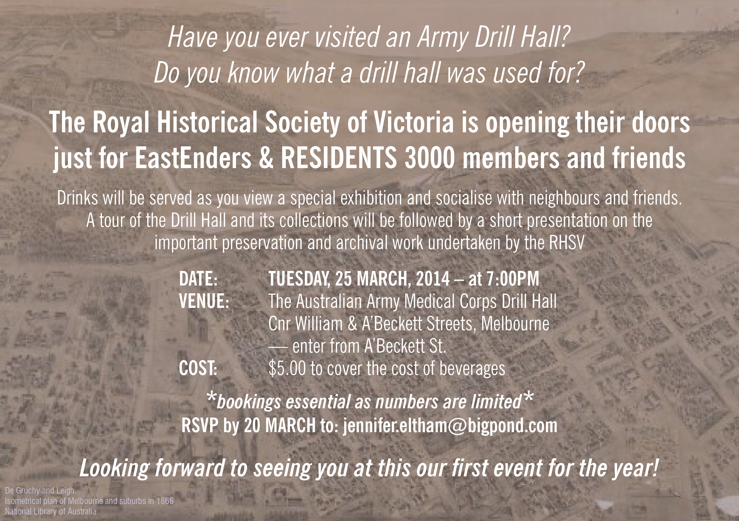 East Enders March 2014 Event