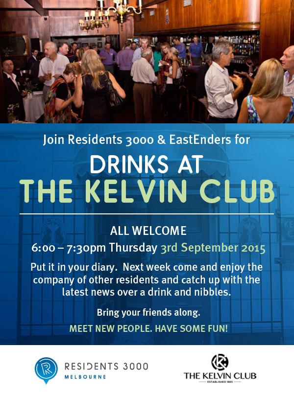 KelvinClub Drinks Night 3rd Sep 2015