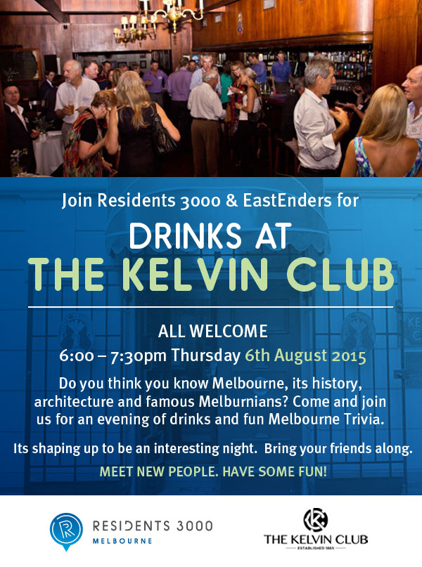 KelvinClub Drinks Night 6th Aug 2015